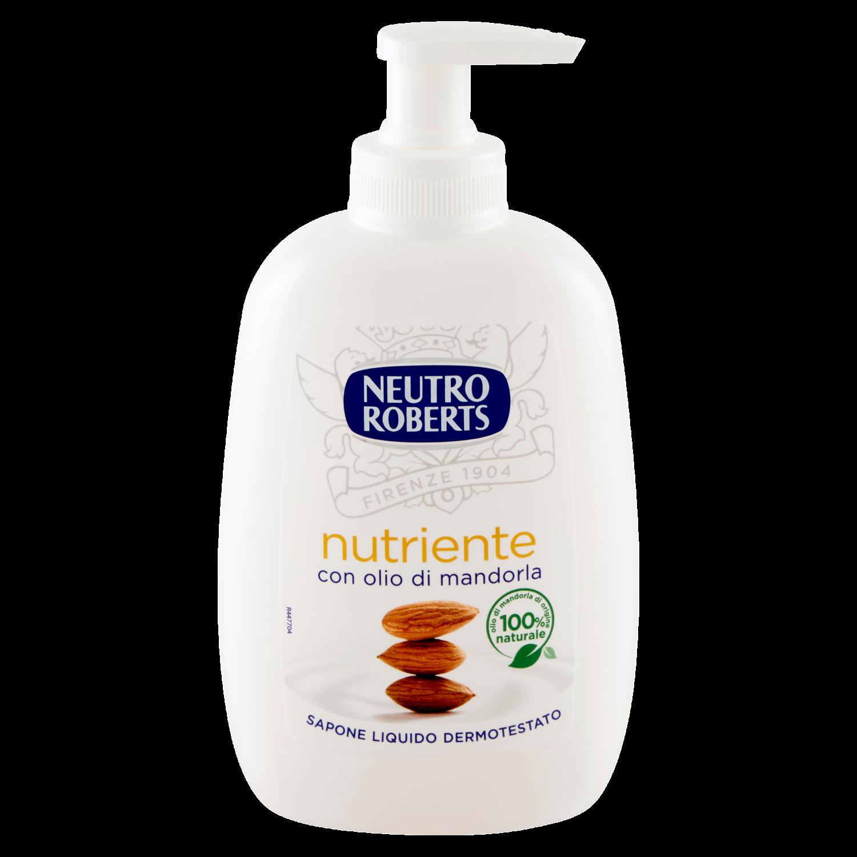 Sapun lichid neutro roberts nutrient cu ulei de migdale 200ml