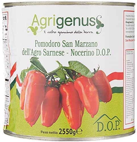 Rosii italiene san marzano dell'agro sarnese-nocerino dop agrigenus  2550g