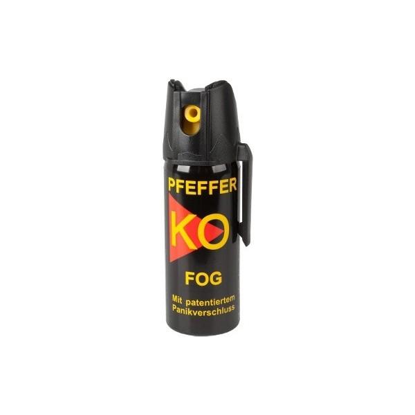 Spray iritant lacrimogen, Klever, cu Piper, KO FOG Dispersant, 50 ml