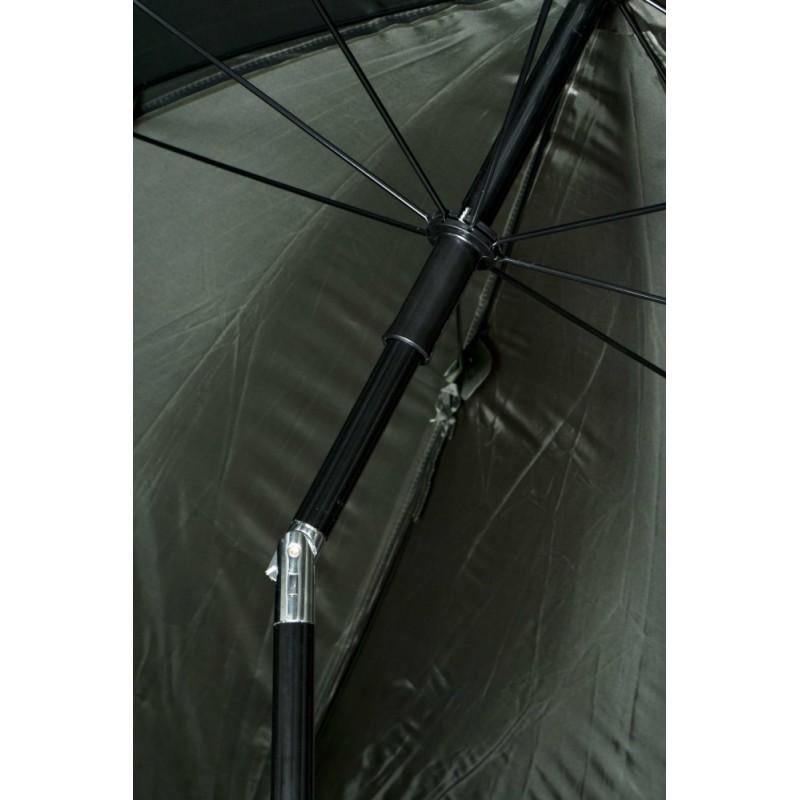 Umbrela jukon cu pereti laterali tip cort multifunctional, ideal la pescuit, inaltime 225cm, verde