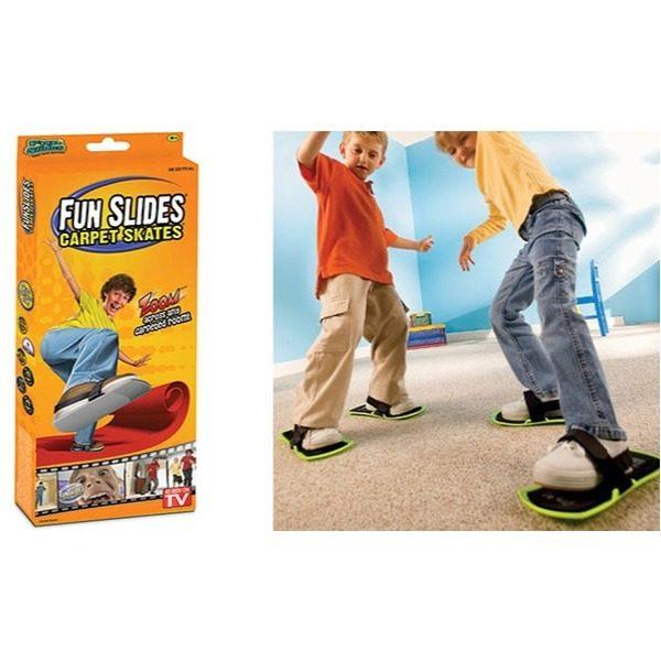 Patine pentru covor, mocheta si iarba fun slides carpet skates