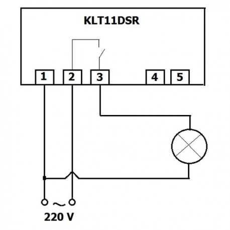 Termostat electronic programabil Keld KLT11