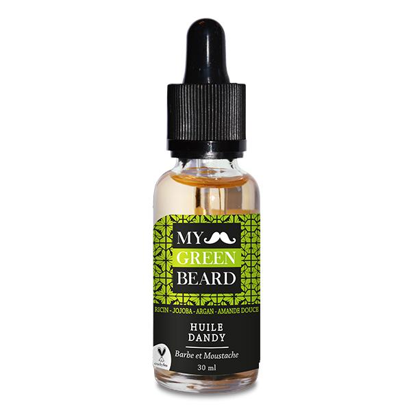 Ulei pentru barba si mustata Dandy Beard Oil My Green Beard 30ml