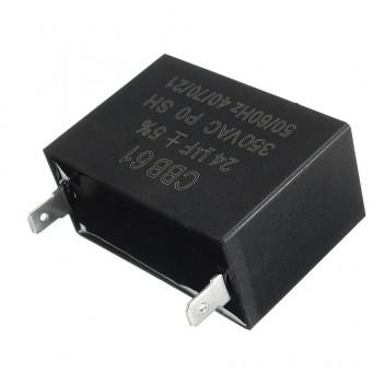 2Condensator 4mF patrat