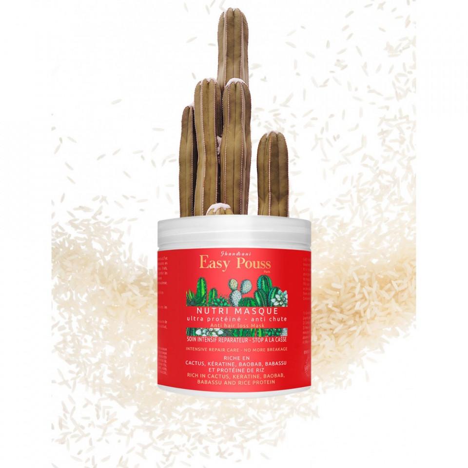 Masca nutritiva si reparatoare impotriva caderii parului, easy pouss, 250 ml