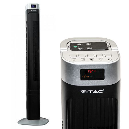 Ventilator 55w model turn 46 inch 120cm cu display si telecomanda