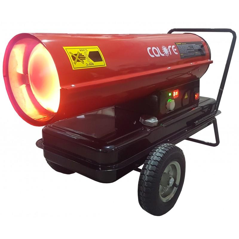 Tun de caldura cu ardere directa D30RT CALORE cu termostat electronic , putere 30kW, debit aer 735mcb/h, motorina, 230V