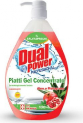 Detergent Concentrat Vase Dual Power cu Aloe si Rodie 1000 ml