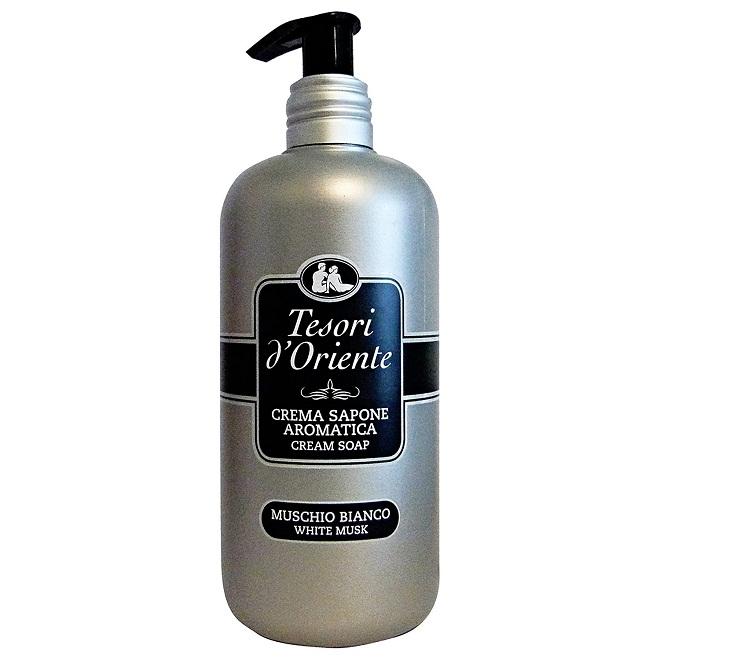 Sapun lichid cu parfum de mosc alb tesori d'oriente 300 ml