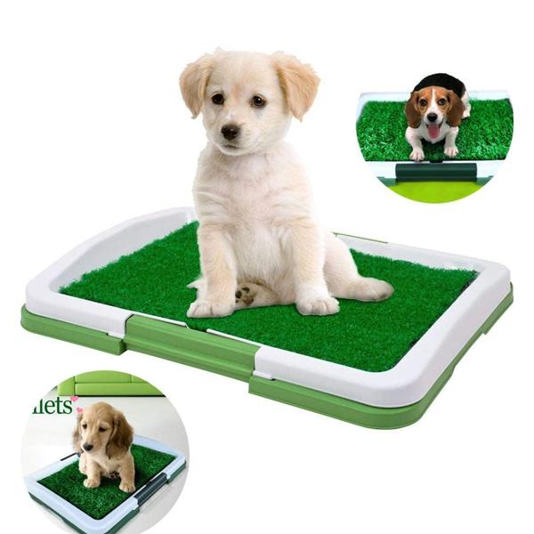 Toaleta cu iarba artificiala pentru animale, Puppy Potty Pad