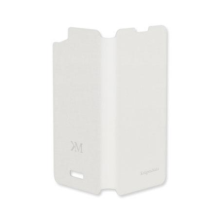 Husa flip cover case kruger&matz flow alb