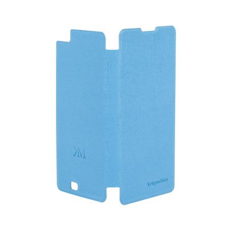 Husa flip cover kruger&matz soul albastru