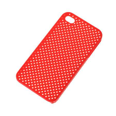 Husaback cover case iphone 4 rosu sita
