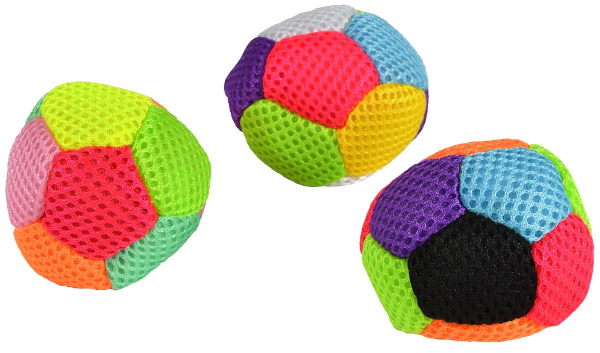 """Set mingi colorate Enero pentru copii, dimensiune 3"""", 3buc"""