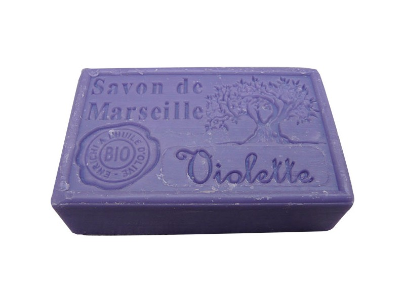 Sapun de Marsilia – Violete - 100 de grame