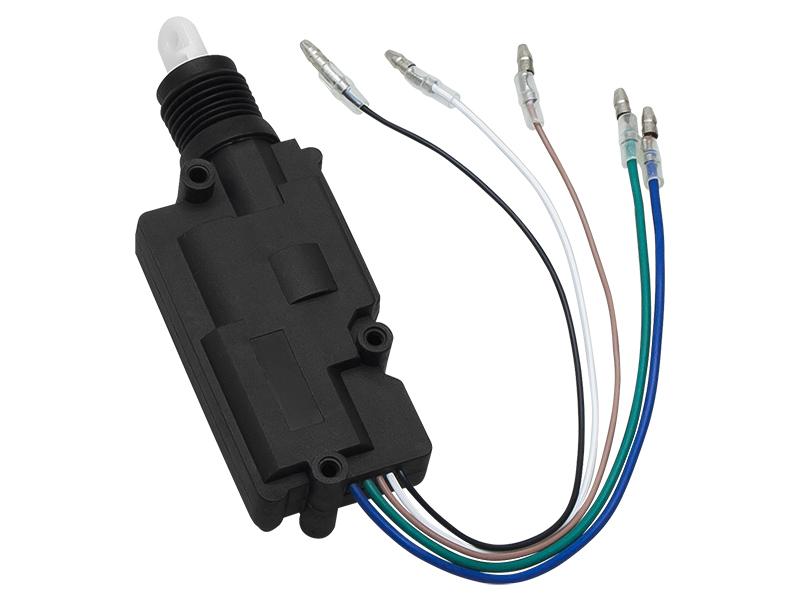 Actuator auto universal cu 5 fire pentru inchidere centralizata si alarme auto