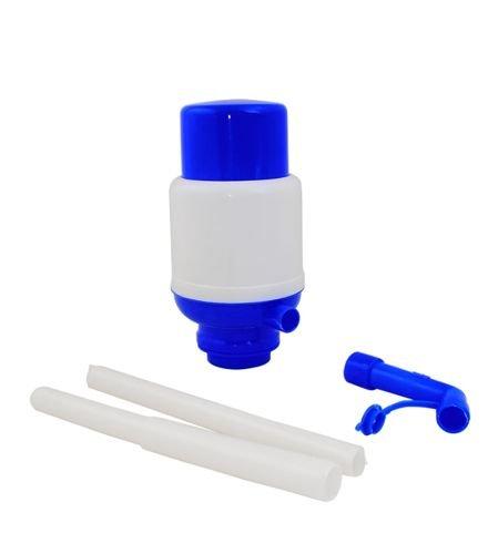 Pompa pentru bidon apa sau alte lichide, culoare albastru-alb