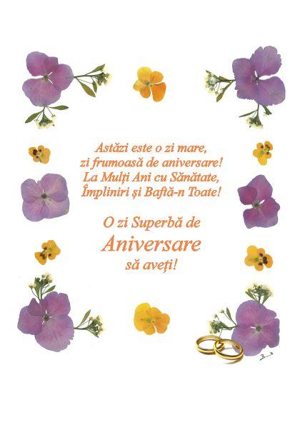 Set 10 Felicitari Oshi , FMS 11a, Aniversare! Astazi este o zi Mare...