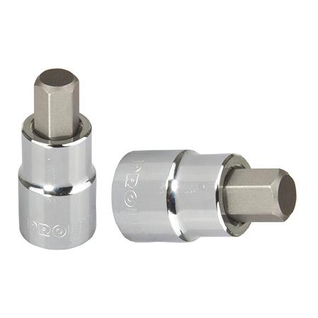 """Cheie tubulara cu varf hexagonal 1/2"""" / 55mm - 7mm"""