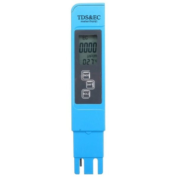 Dispozitiv pentru masurarea impuritatilor din apa tds/ec