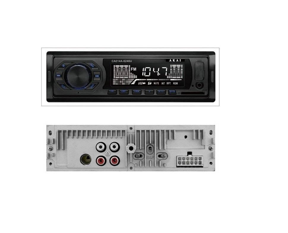 Radio mp3 player akai usb / sd card 2x7w aux