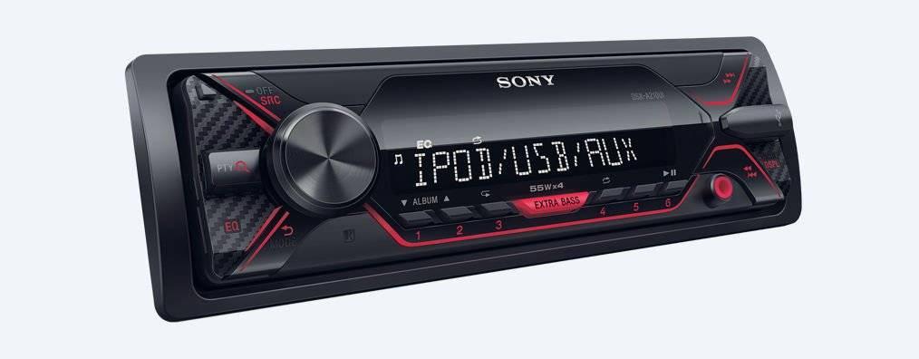 Radio mp3 player auto sony dsxa210ui 4x55w usb aux