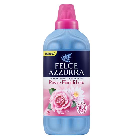 Balsam de rufe concentrat felce azzurra rosa  fior di loto 24 spalari 600ml