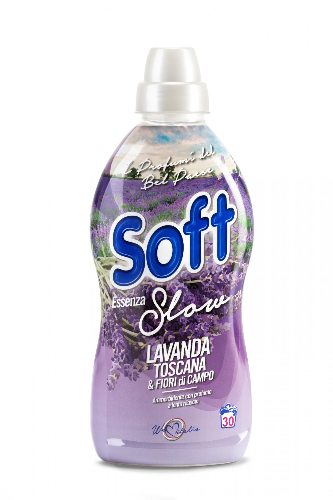 Balsam de rufe concentrat soft essenza lavanda toscana 30 spalari 750ml
