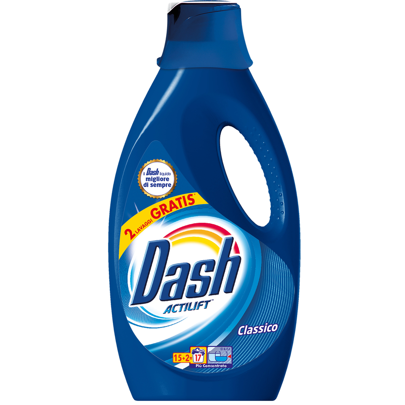 Detergent rufe lichid dash actilift clasic 15+2 spalari 935ml