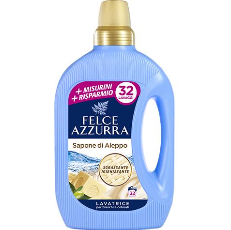 Detergent rufe lichid felce azzurra sapone di aleppo 32 spalari 1.5952ltr