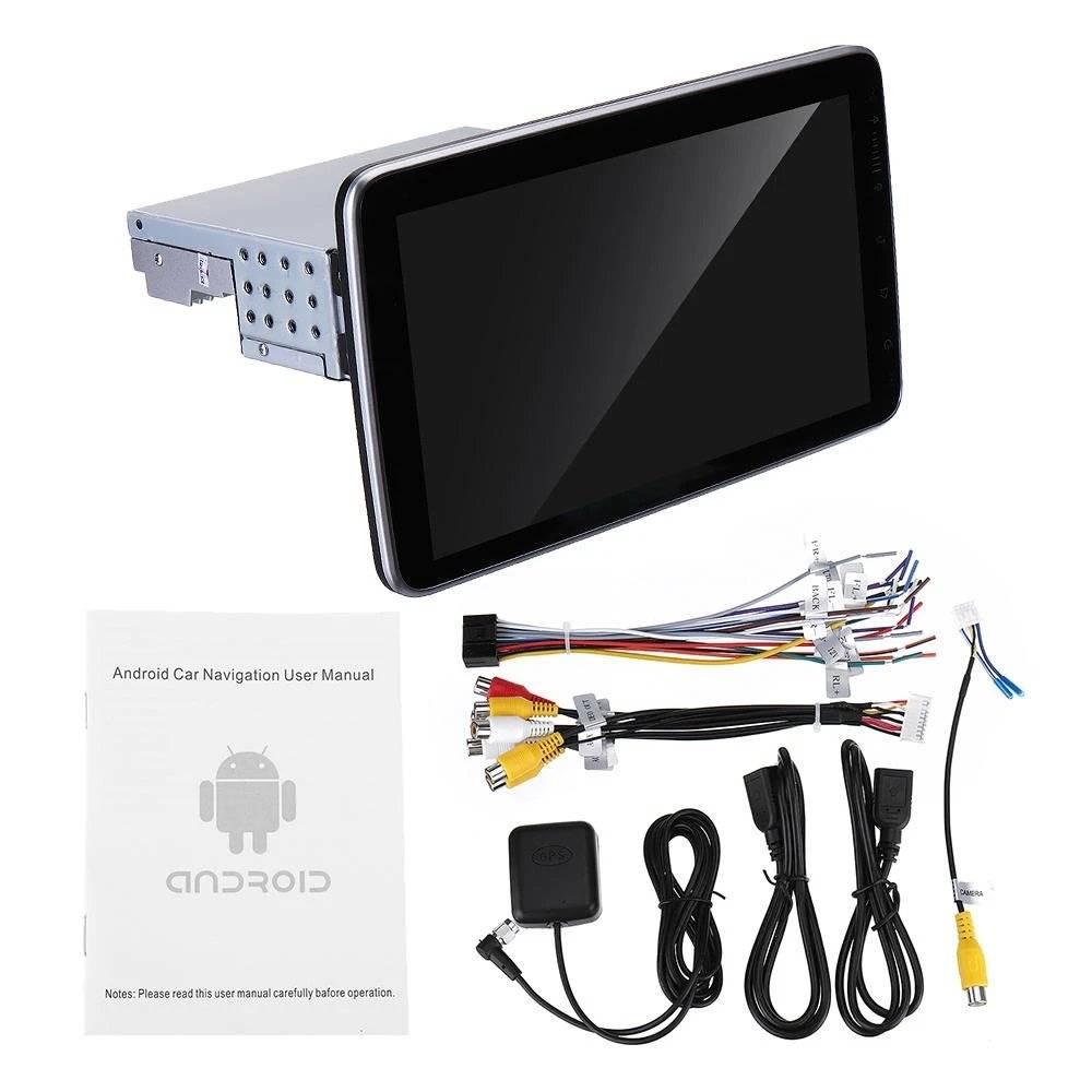 Radio mp3 1din universal android iphone touchscreen gps wifi usb bluetooth mirrorlink