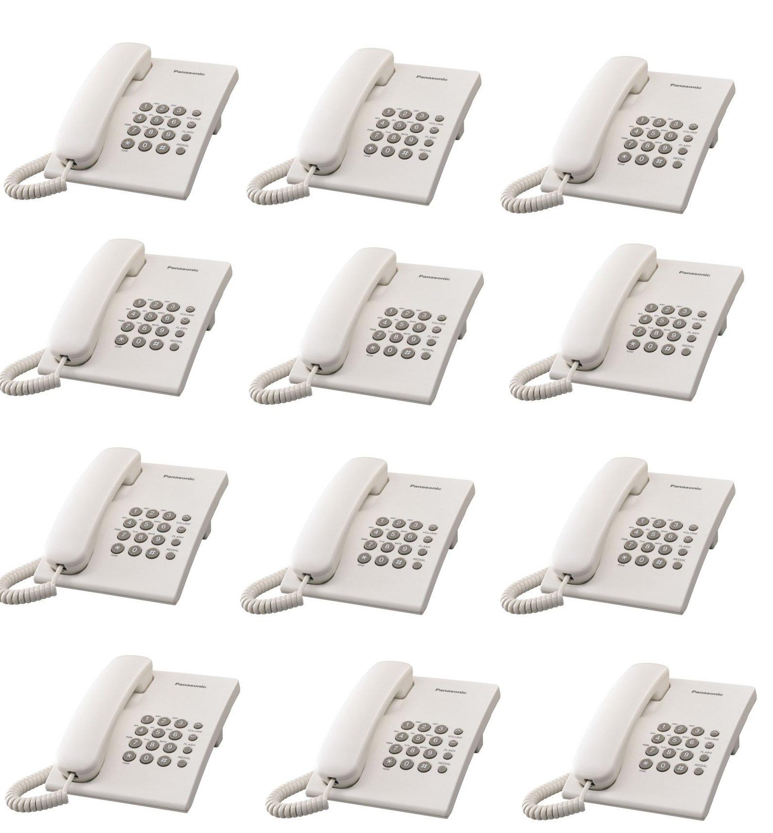Set 12 Telefoane Panasonic KX-TS500FXW