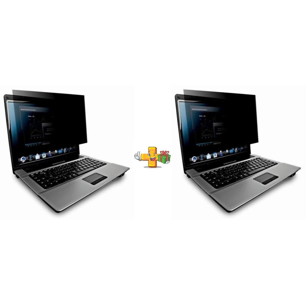 Set 2 Folii privacy laptop 15.6 - Folie incognito confidentialitate 100%