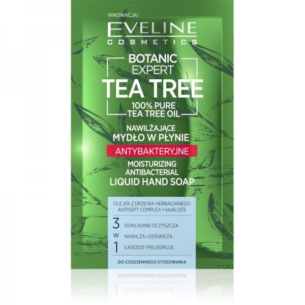 Sapun lichid eveline cosmetics hidratant antibacterian botanic expert tea tree 75 ml