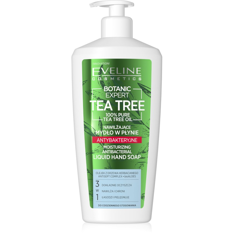 Sapun lichid eveline cosmetics botanic expert tea tree 350ml