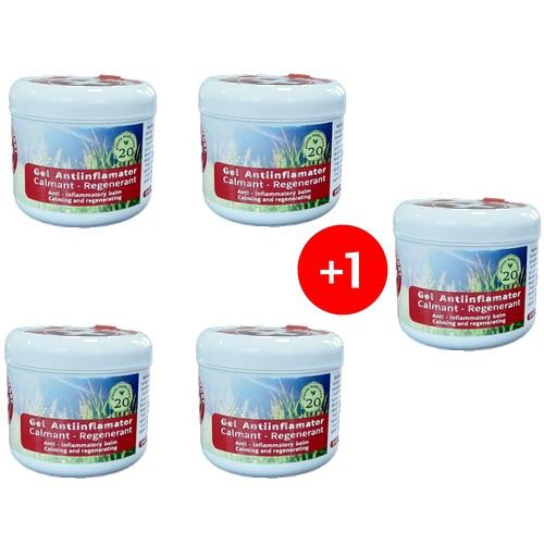 PACHET DISCOUNT 4+1 Creme Medical Confort ELIXIR ANTIINFLAMATOR 20 plante medicinale