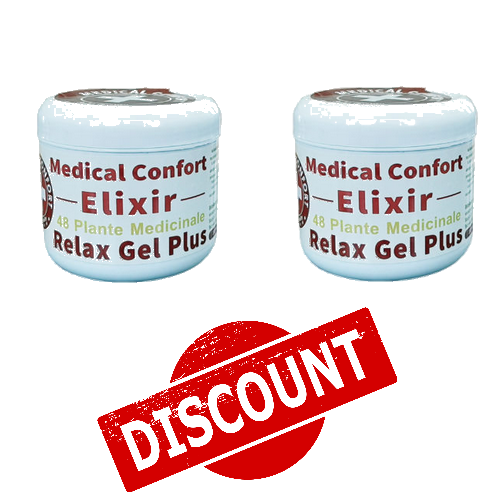 SET 2 Creme Medical Confort ELIXIR CALMANT 48 plante medicinale – reducere