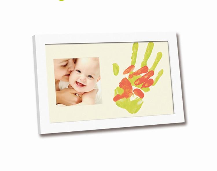 Rama foto cu amprenta mamei si a bebelusului 2plus1