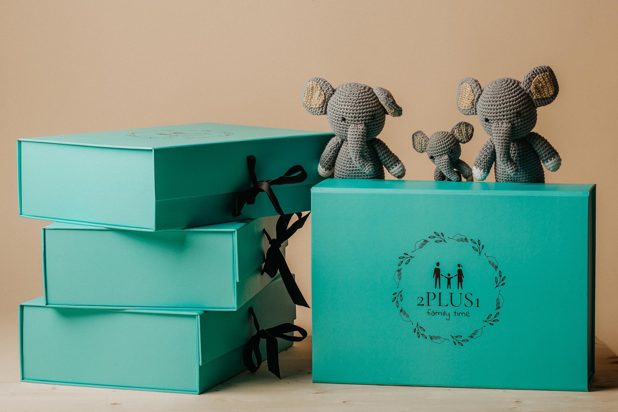 Set cadou pentru mama si bebelus nou nascut baby shower gift box