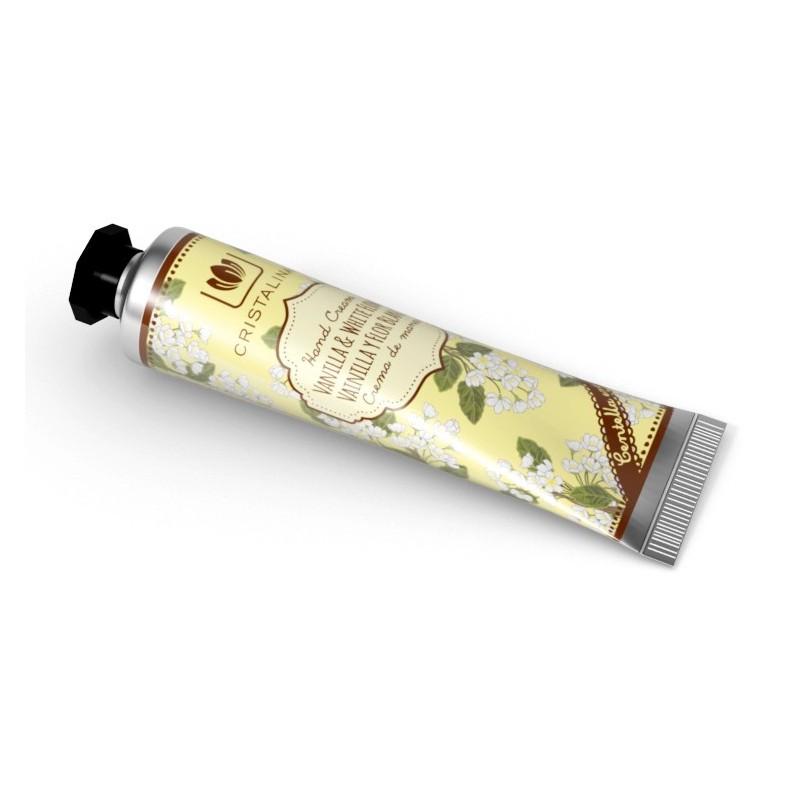 Cristalinas Ser de mâini - vanilie și flori albe 30 ml