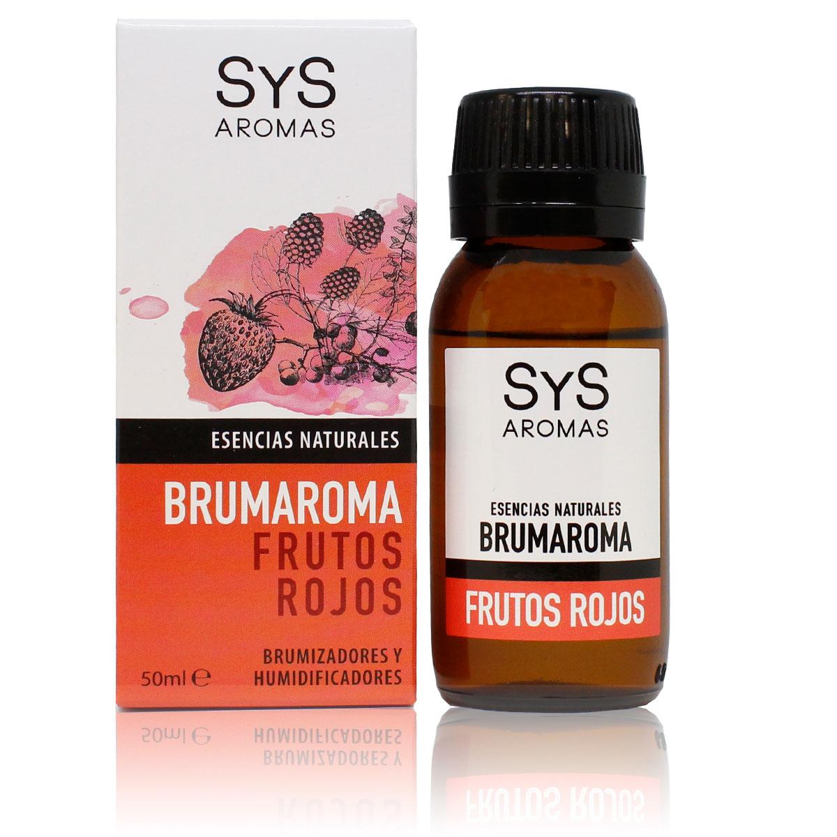 Esenţa naturală Brumaroma difuzor/umidificator - Fructe roşii 50 ml