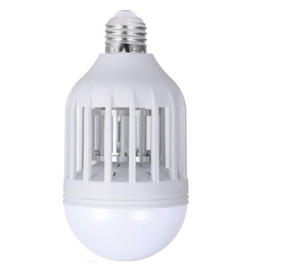 Bec led 60w cu lampa uv anti tantari   insecte