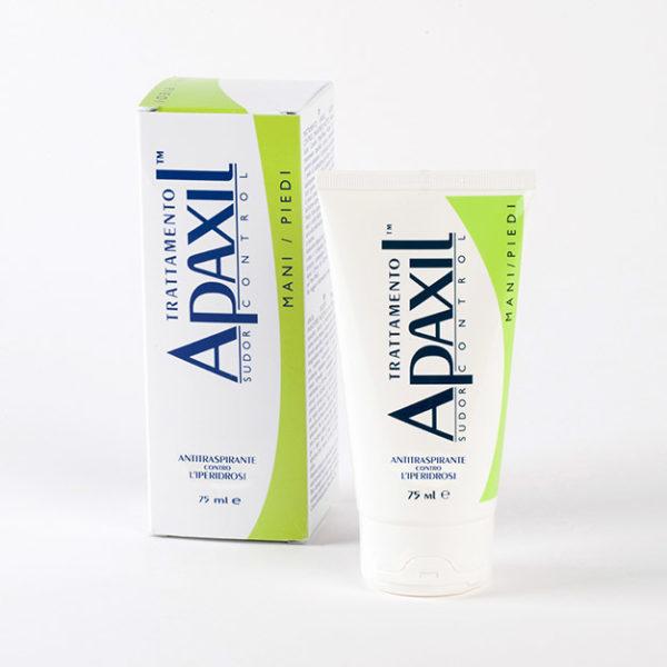 Apaxil Tratament Controlul Transpiratiei Maini / Picioare gel 75 ml