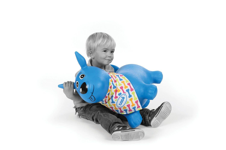 Catel saltaret albastru - ludi