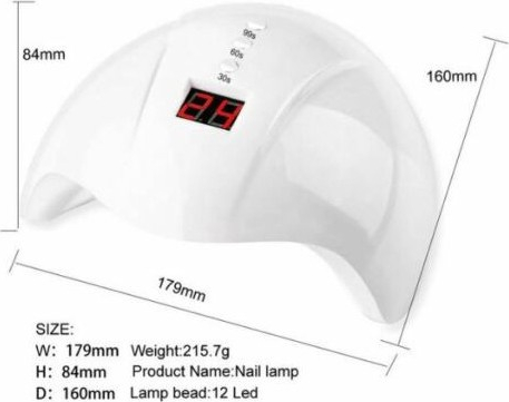 Lampa UV LED Mini 5 - 36W Digital Expert