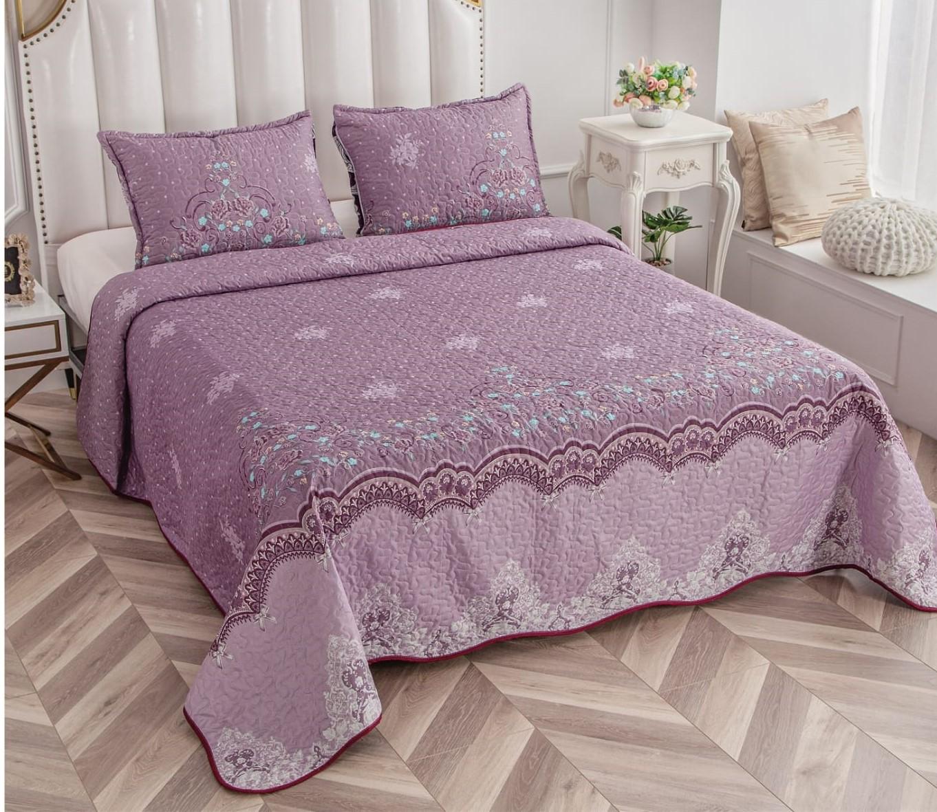 Cuvertura pentru pat Via Dante,2 persoane,220x240 cm,CVD-204