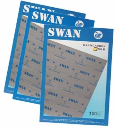 Indigo a4 swan, albastru, 100coli/top