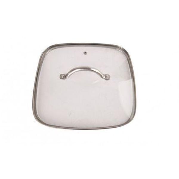 Tigaie patrata din aluminiu, invelis antiaderent cu ceramica si titan, grunberg gr6950