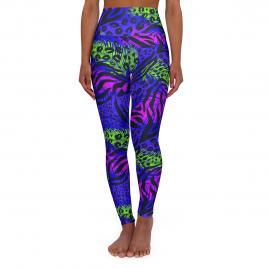 Colanti dama neon jungle