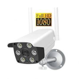 Camera Supraveghere, FULL HD, 2MP, 4U®, WIFI, SD, Detectie forma umana, 6 leduri lumina